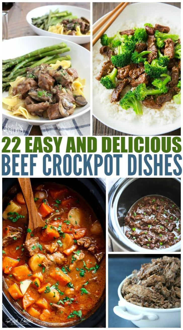 Easy Beef Crockpot Recipes - Recipes Beef In Crock Pot