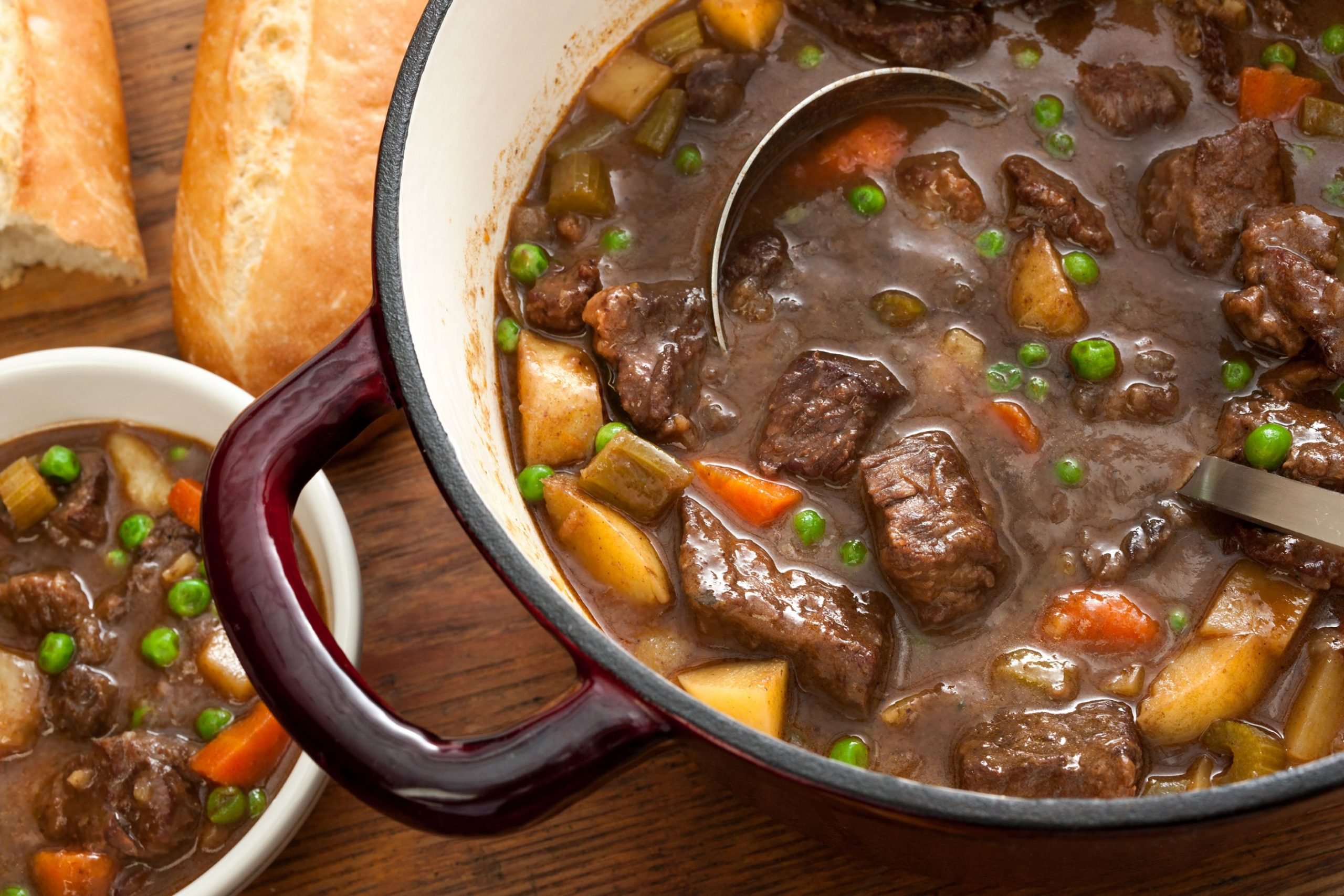 Easy Beef Stew - Soup Recipes With Beef