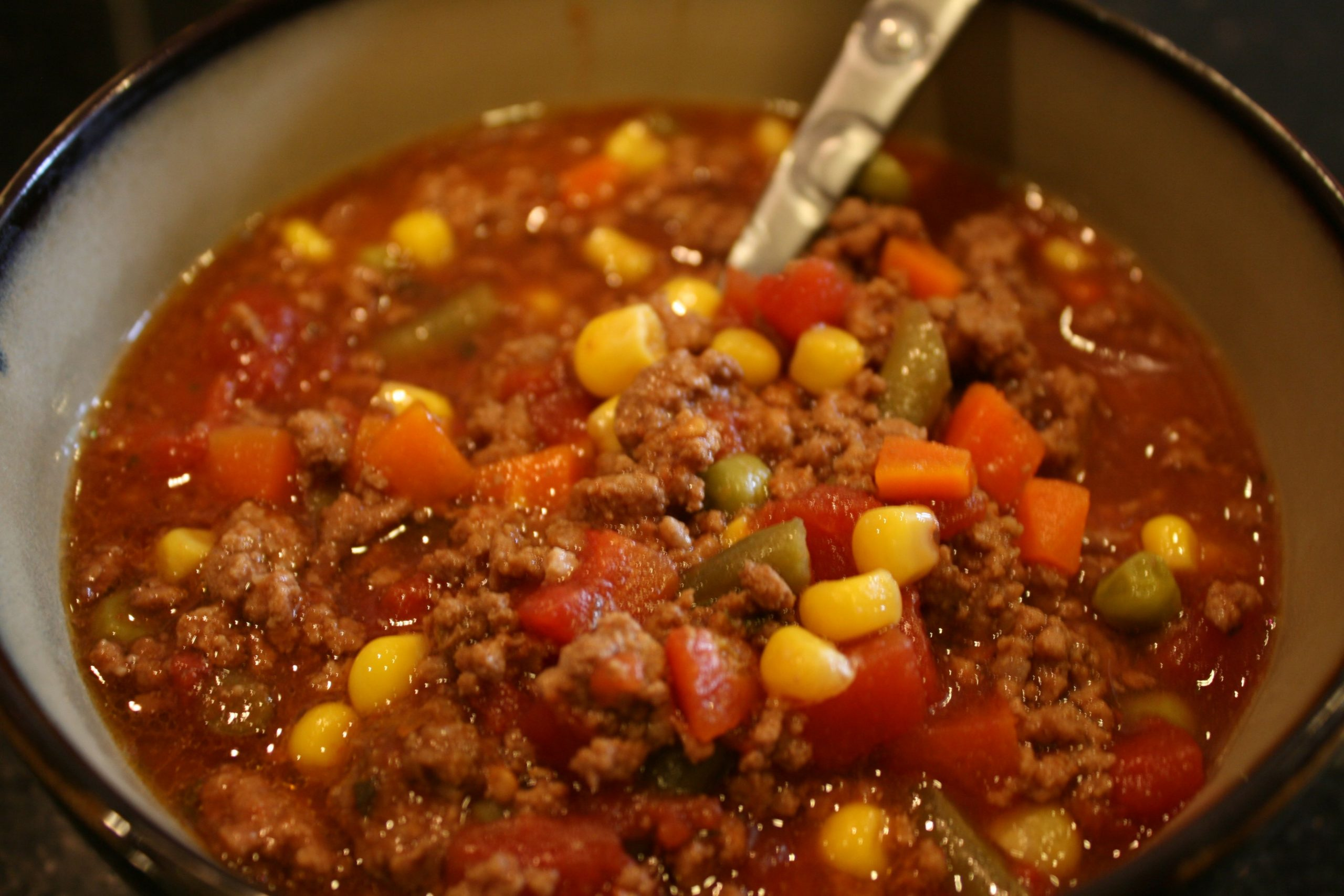 Easy Beef-Vegetable Soup - Recipes Beef Vegetable Soup