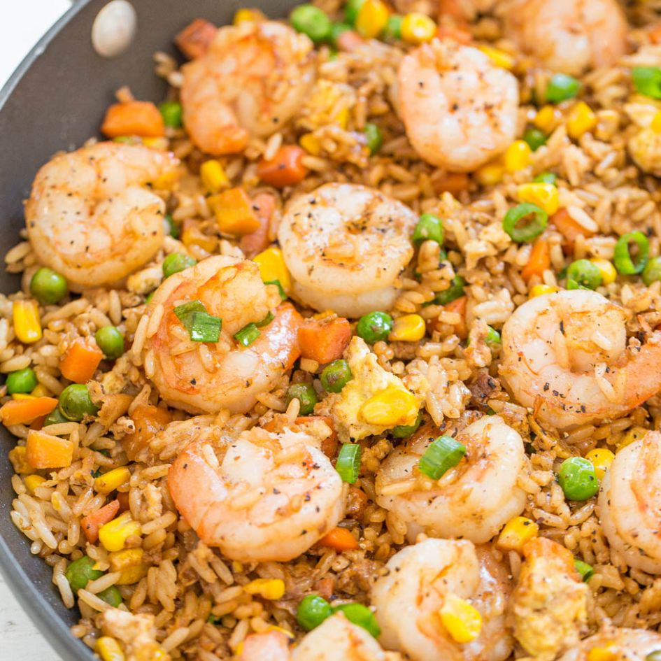 Easy Better-Than-Takeout Shrimp Fried Rice