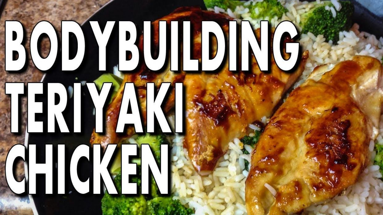 EASY BODYBUILDING TERIYAKI CHICKEN RECIPE | Chicken recipes ...