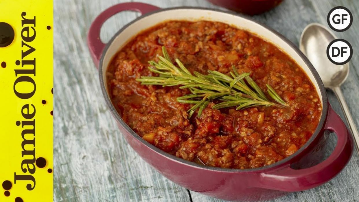 Easy Bolognese Recipe | Jamie Oliver - Recipes Beef Mince Jamie Oliver