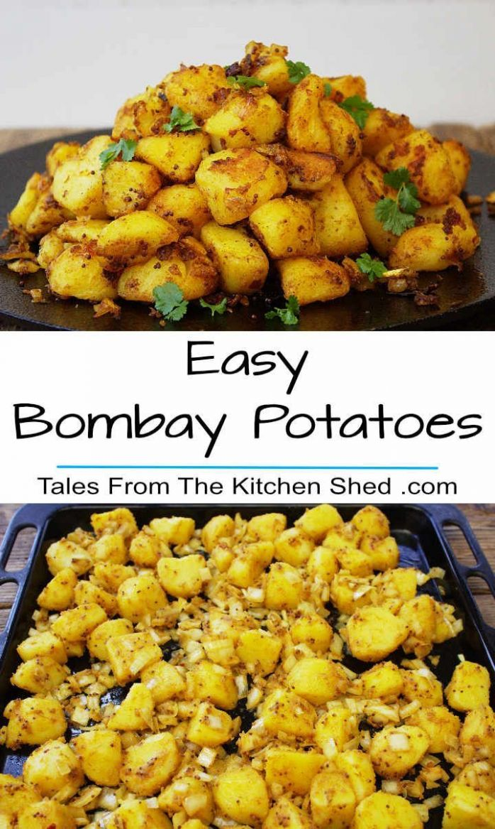 Easy Bombay Potatoes - Potato Recipes Yummy Tummy