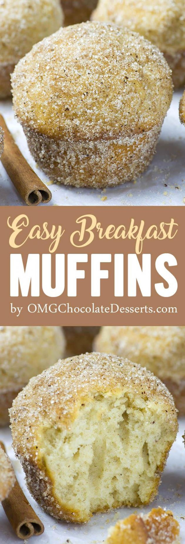 Easy Breakfast Muffins | Homemade Make-Ahead Breakfast Muffin Recipe