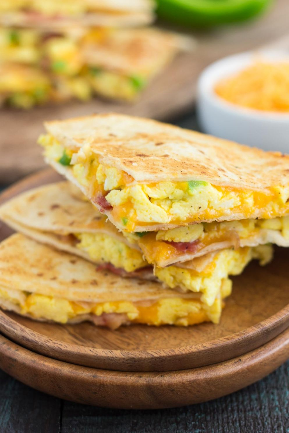 Easy Breakfast Quesadillas - Breakfast Recipes Using Eggs