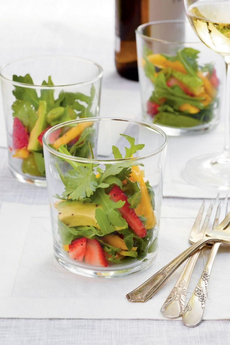 Easy, Breezy Summer Party in 12 | Summer salads with fruit ..