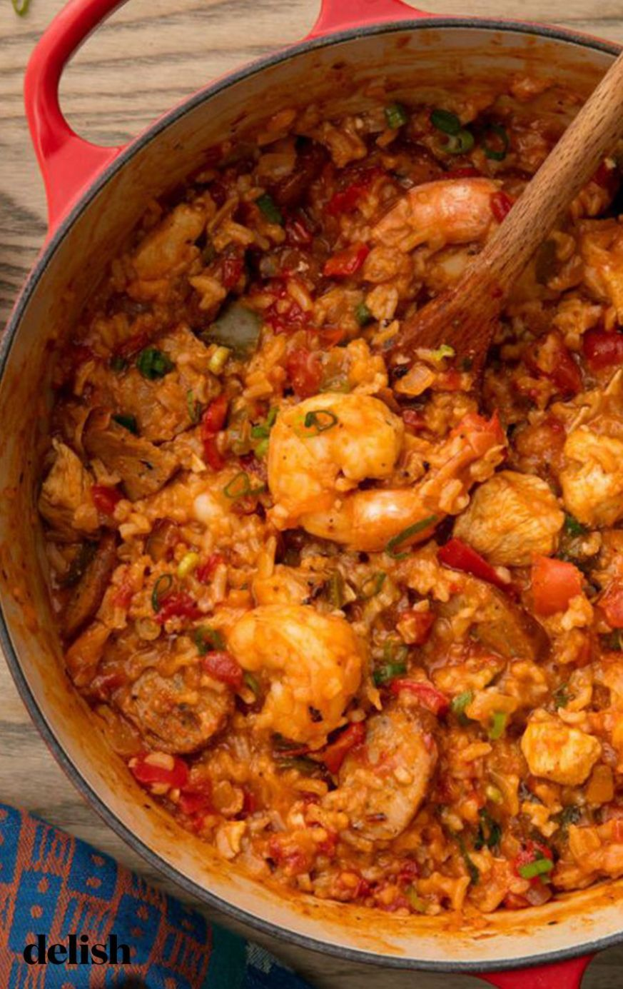 Easy Cajun Jambalaya - Recipes Jambalaya Dinner