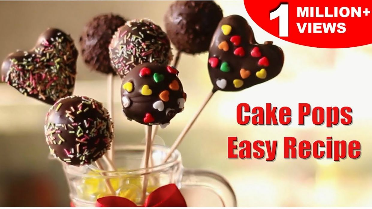 Easy Cake Pops | Super Easy Recipe | Kid's Dessert Recipe | Kanak's Kitchen