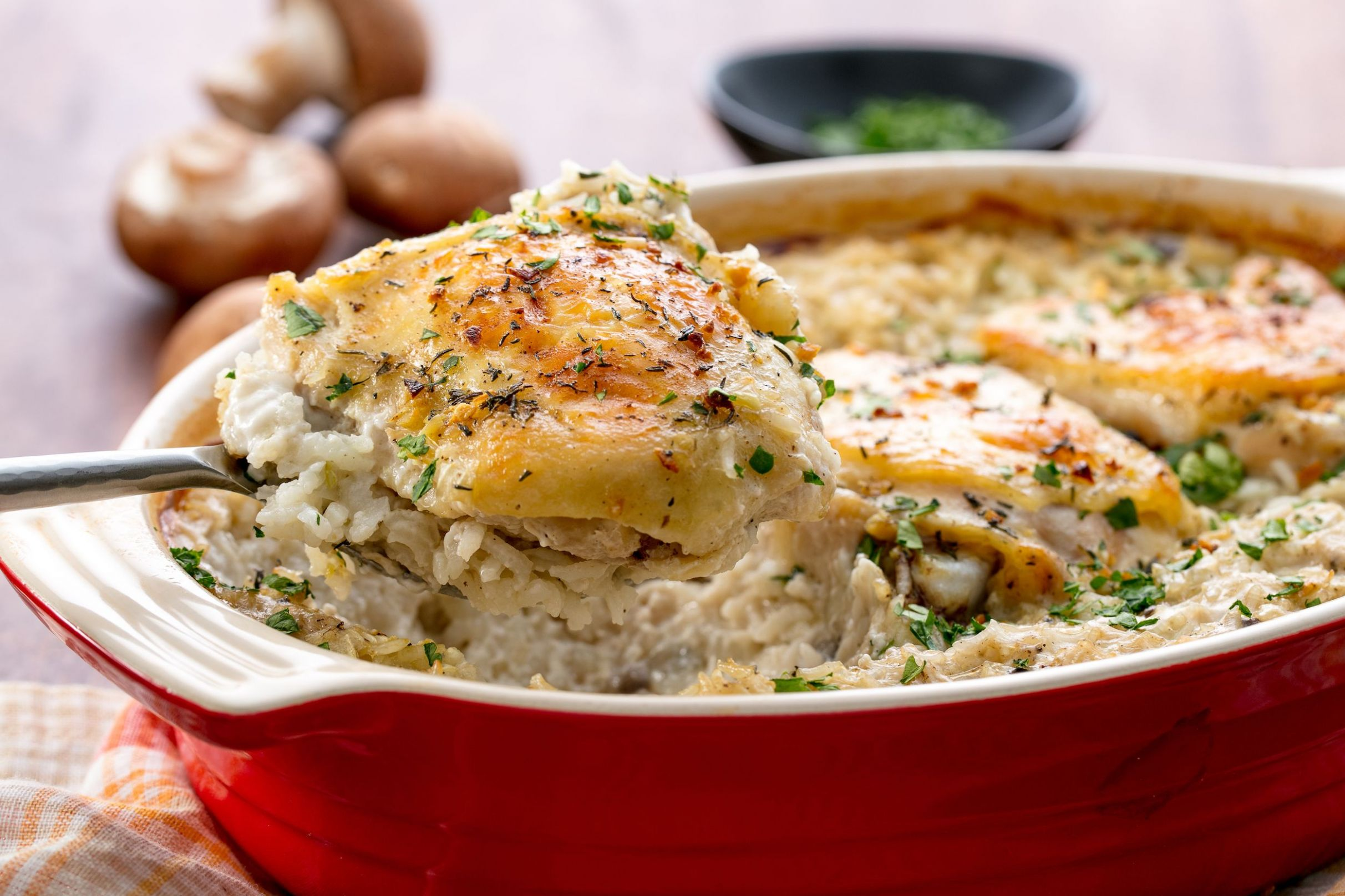 Easy Chicken and Rice Casserole - Recipes Chicken Breast And Rice Casserole