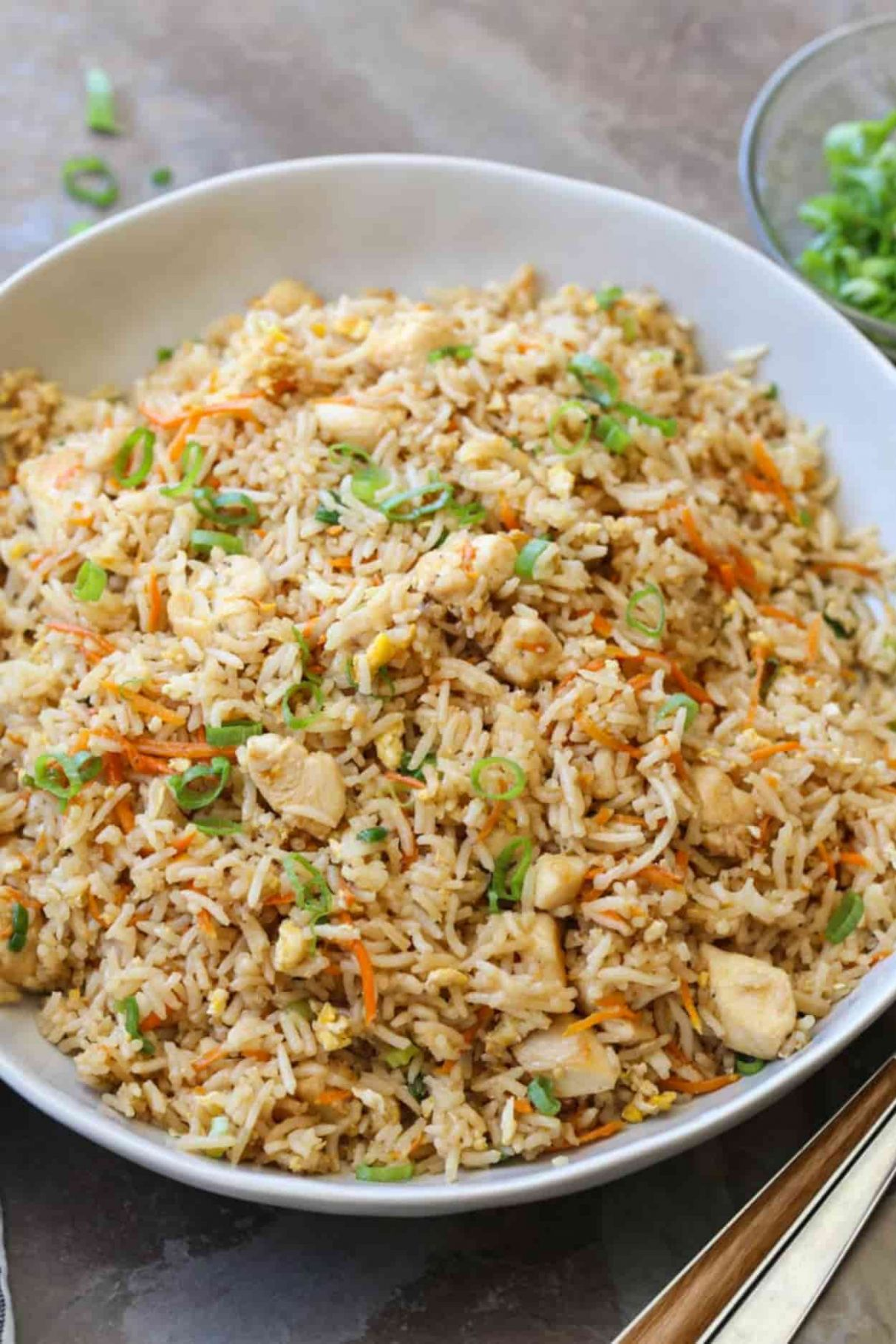 Easy Chicken Fried Rice - Recipes Rice Chicken