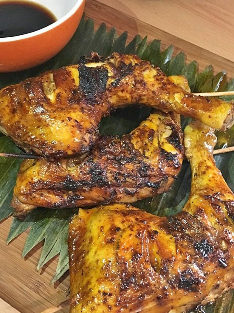 Easy Chicken Inasal - Grilled Recipe | Amiable Foods - Recipe Chicken Inasal