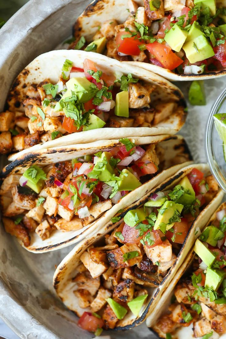 Easy Chicken Tacos - Recipes Chicken Tacos