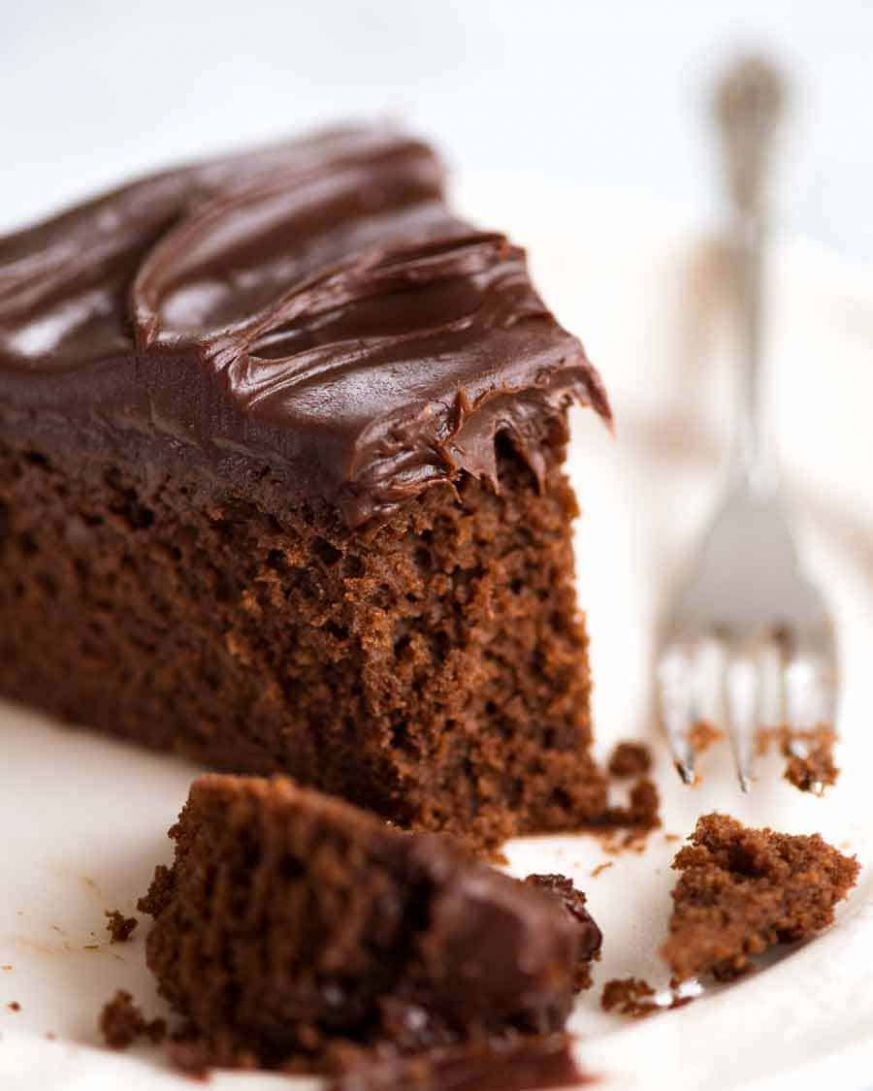 Easy Chocolate Fudge Cake - Cake Recipes Easy Chocolate