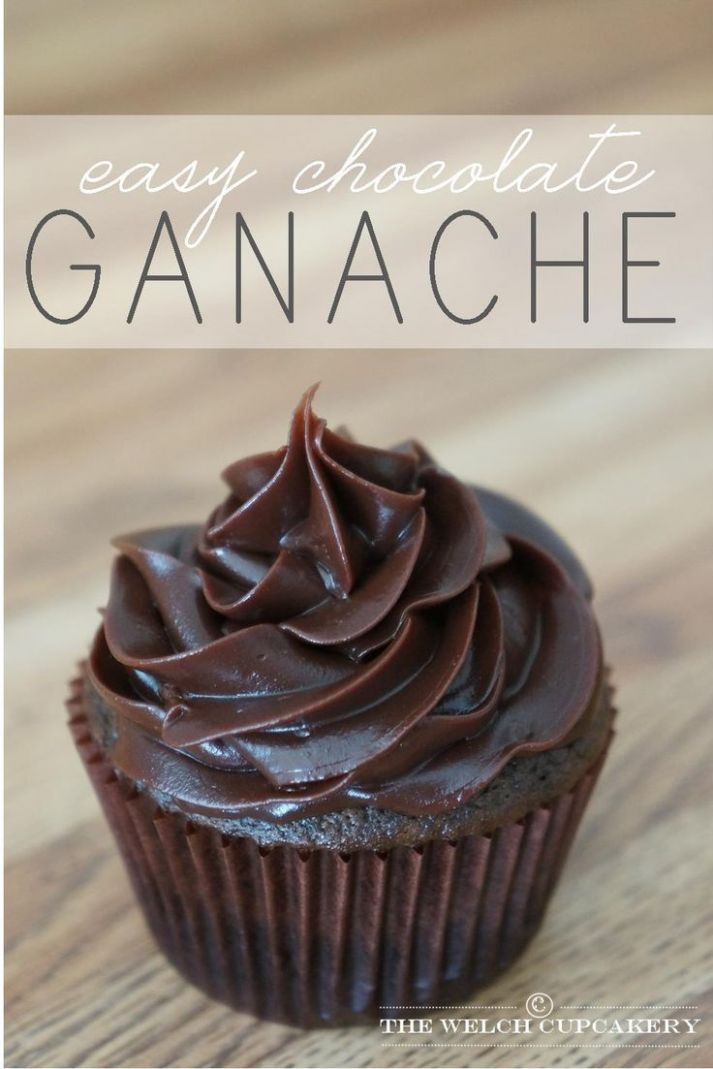 easy chocolate ganache recipe | Easy chocolate ganache, Ganache ...