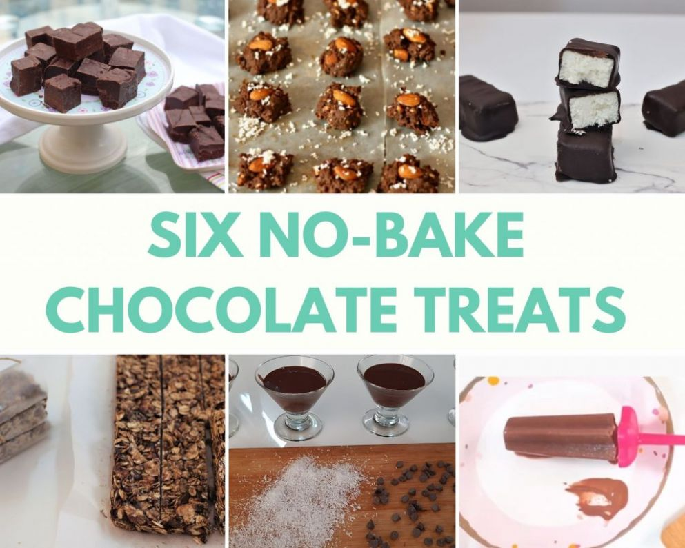 Easy Chocolate Recipes no-bake (with few ingredients) - Bake Fresh - Easy Recipes No Ingredients