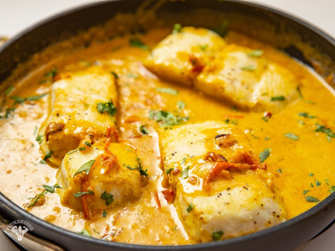 Easy Coconut Fish Recipe - Fit Men Cook