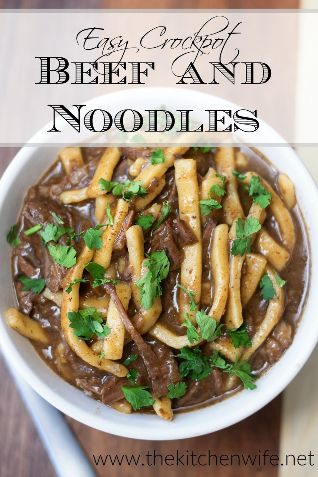Easy Crockpot Beef and Noodles Recipe - Recipes Beef In Crock Pot