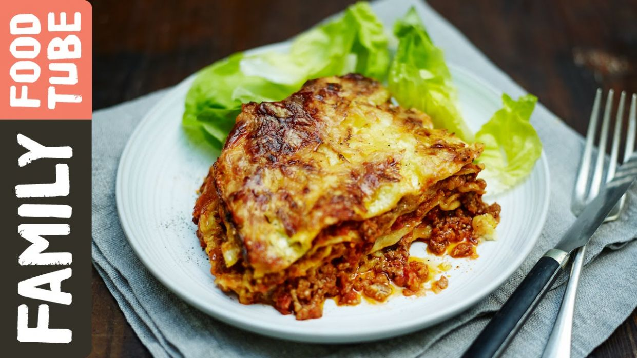Easy Family Lasagne | Jamie Oliver - Recipes Beef Mince Jamie Oliver