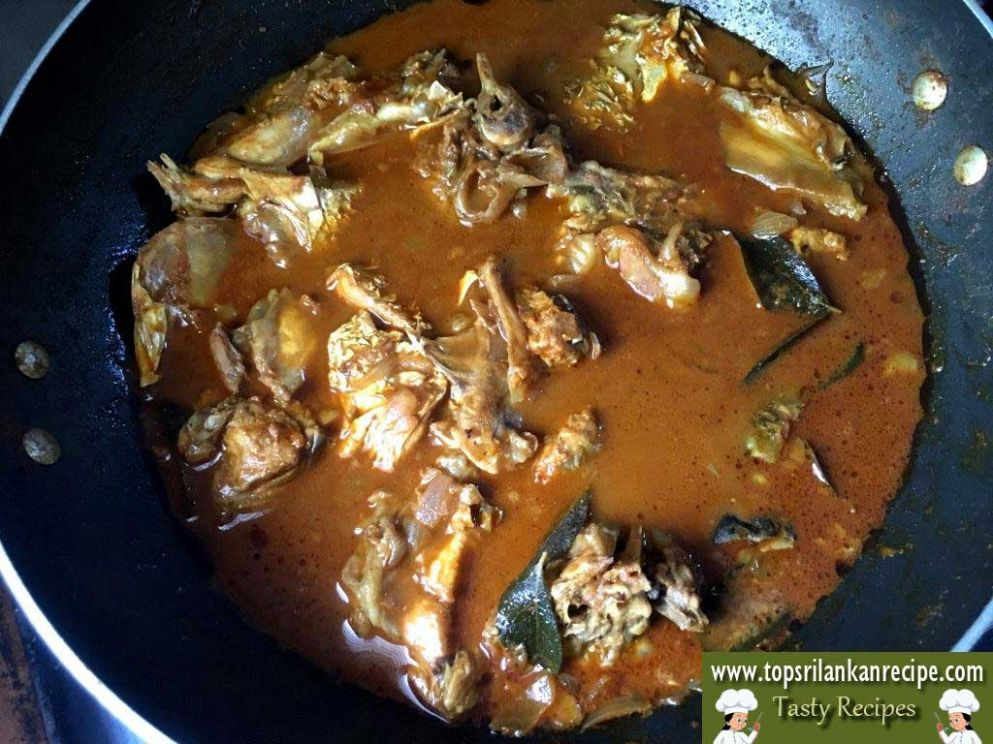Easy Fish Head Curry Spicy Recipe without Oil
