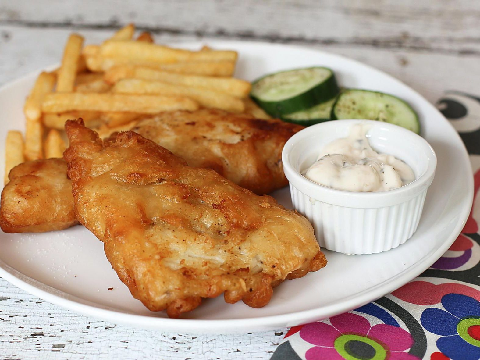 Easy Fried Fish Fillets - Recipe Fish Batter Without Beer
