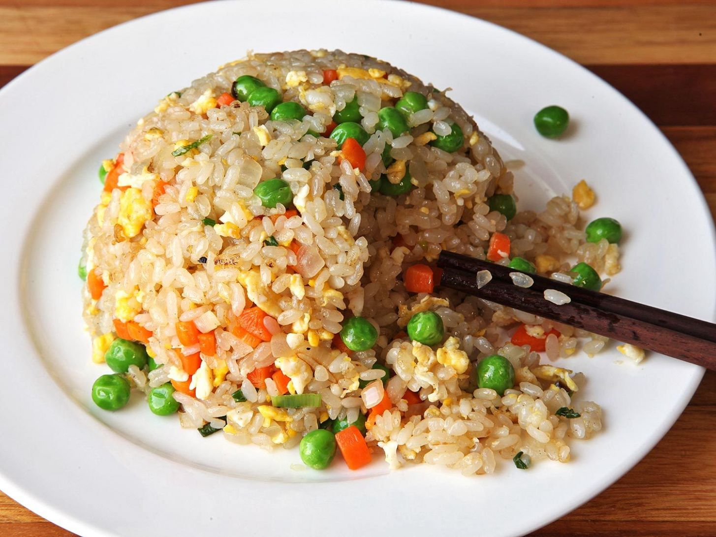 Easy Fried Rice Recipe - Recipes Rice Vegetables