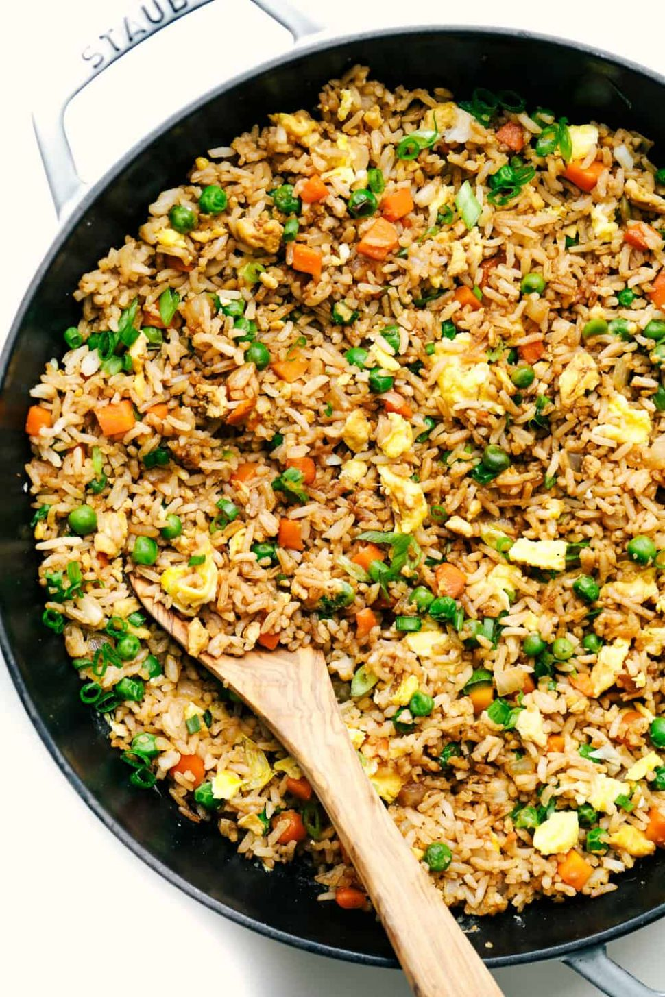 Easy Fried rice - Recipes Rice And Eggs