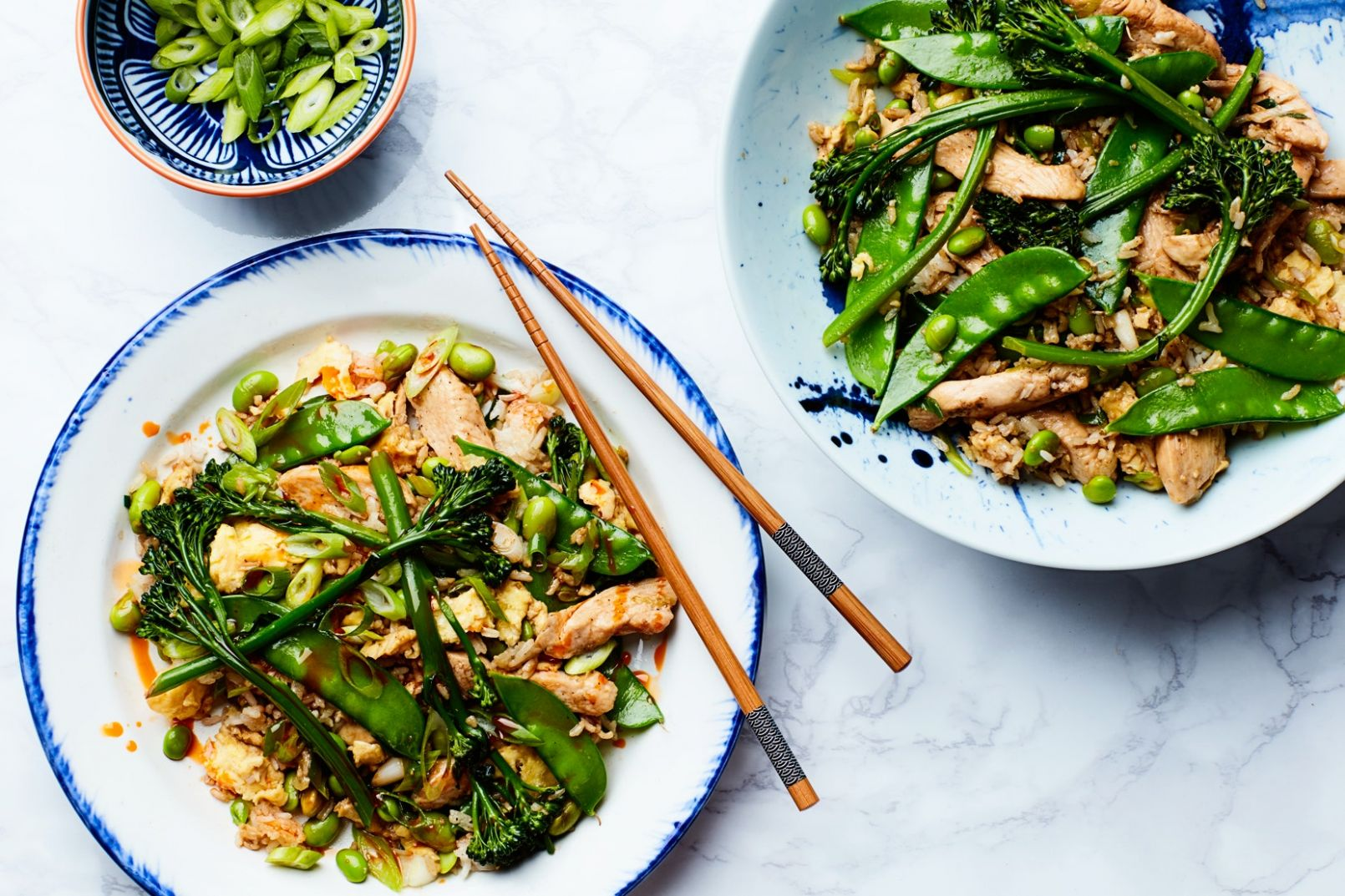Easy Fried Rice with Chicken and Broccolini - Easy Recipes Epicurious