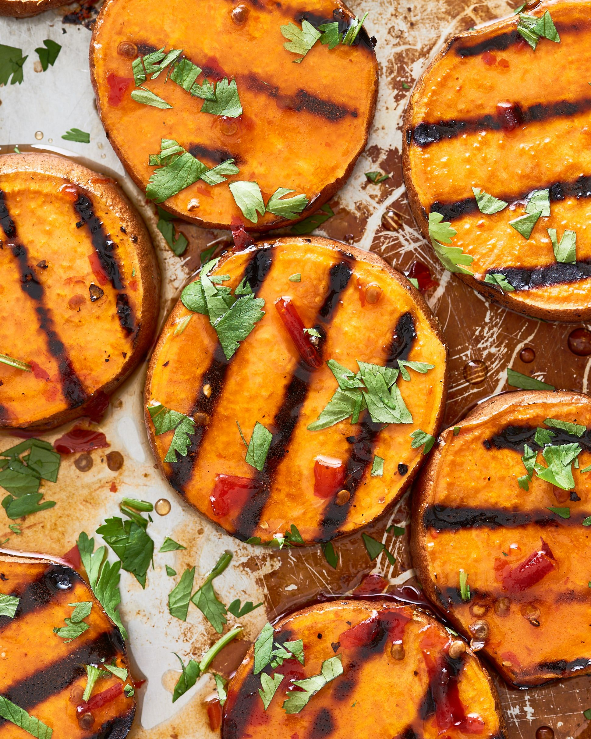 Easy Grilled Sweet Potatoes