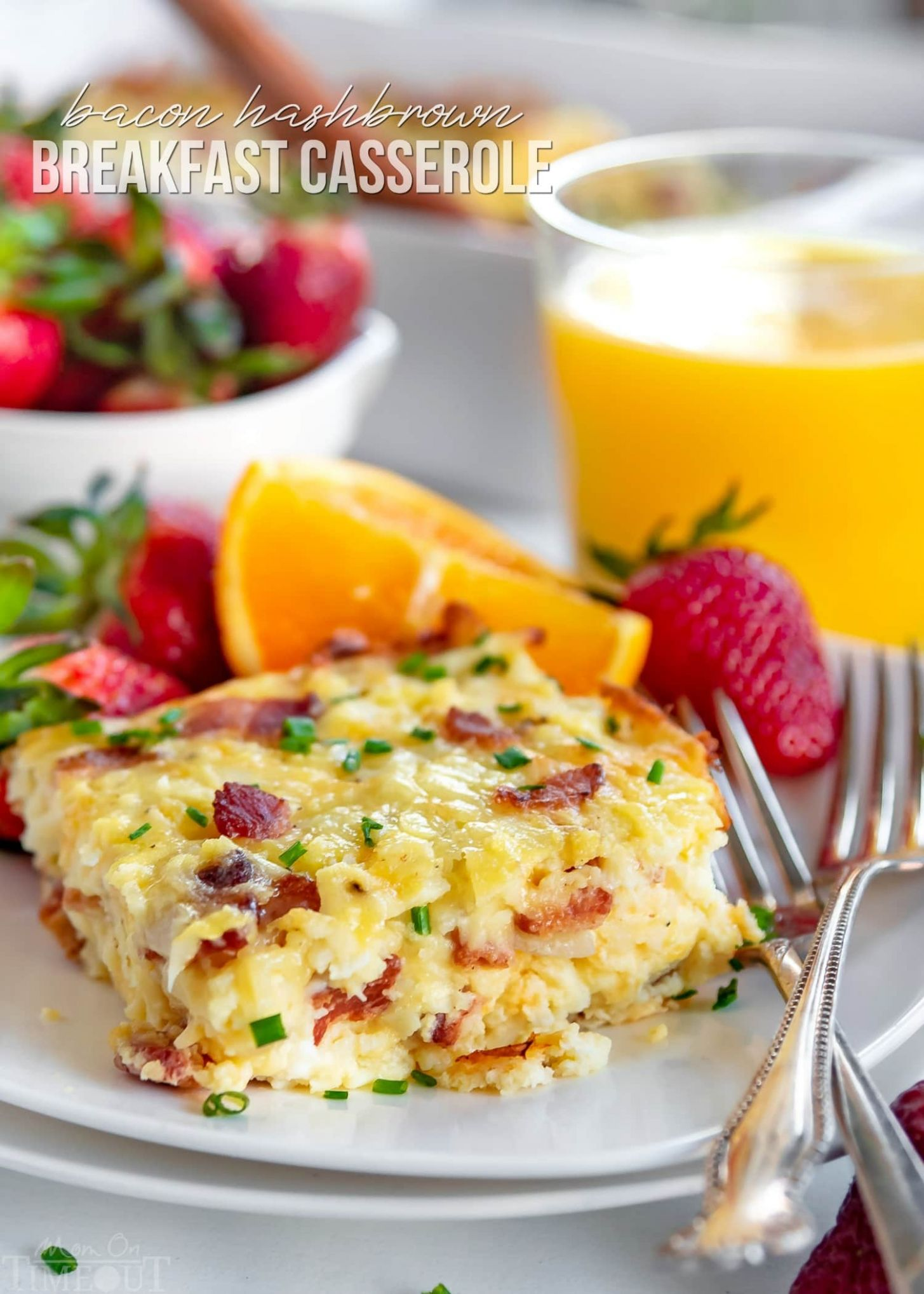 Easy Hashbrown Breakfast Casserole - Mom On Timeout - Recipe Egg Hash Brown Casserole