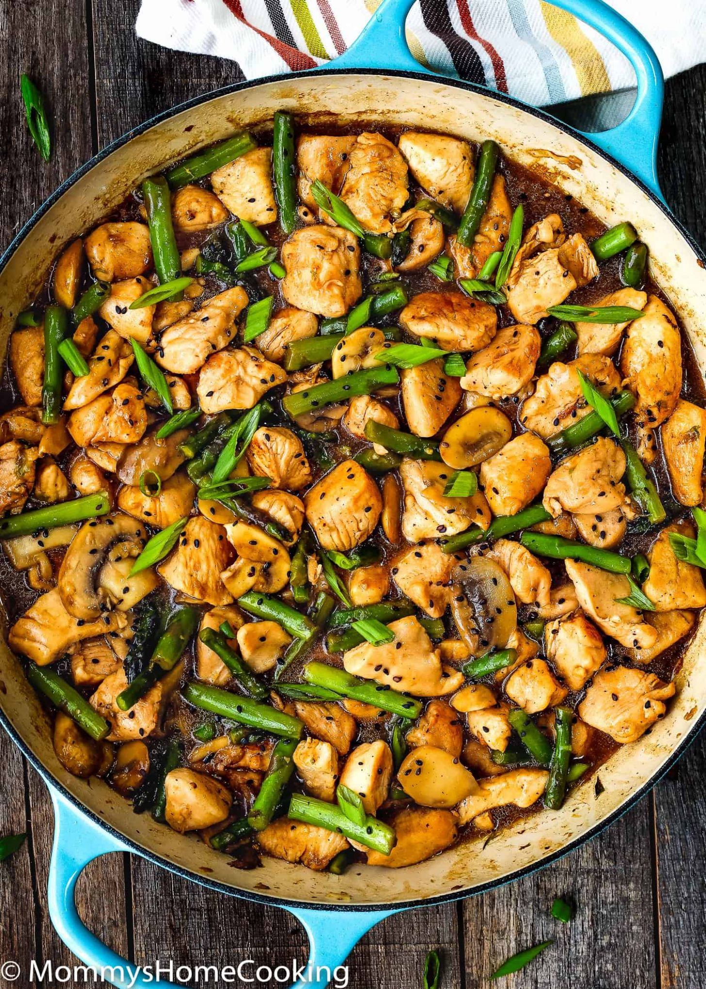 Easy Healthy Chicken and Asparagus Skillet - Healthy Recipes Dinner