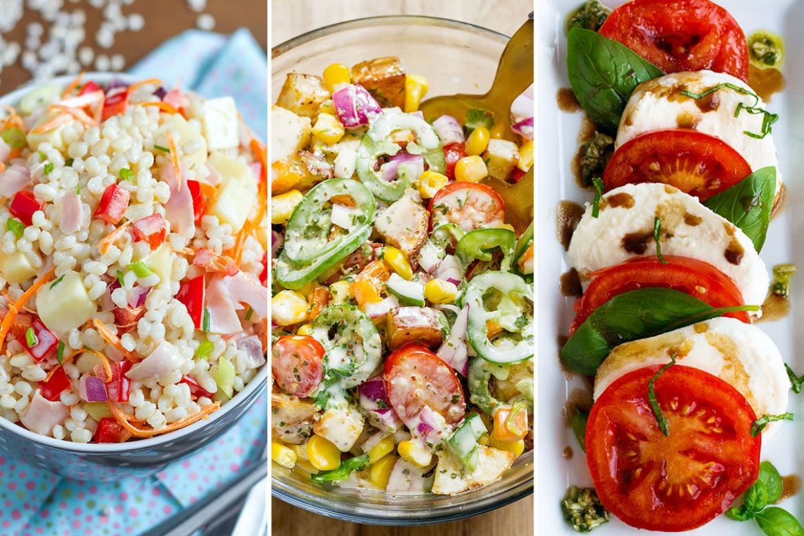 Easy Healthy Salad Recipes: 12 Ideas for Summer — Eatwell12 - Salad Recipes For Summer