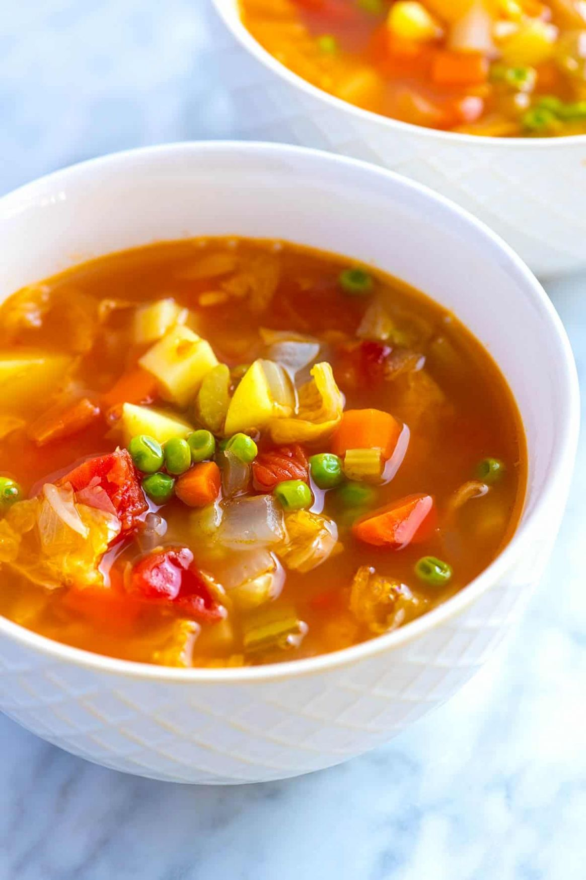 Easy Homemade Vegetable Soup - Recipes For Vegetable Soup