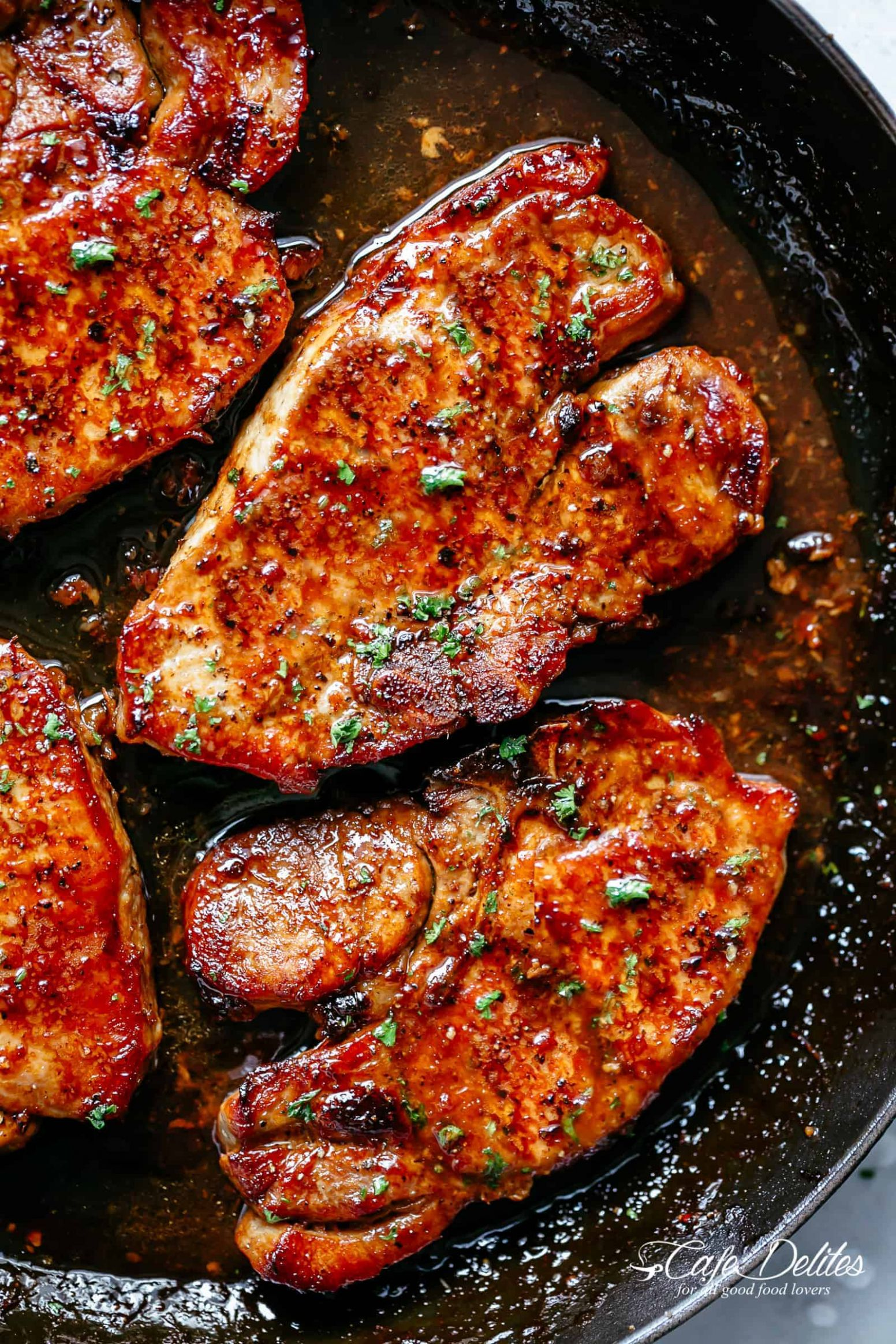 Easy Honey Garlic Pork Chops Recipe - Pork Recipe Yummy