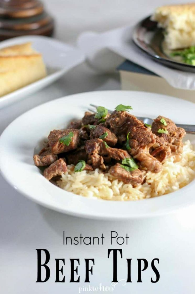 Easy Instant Pot Beef Tips and Rice - Recipes Beef Tips And Rice