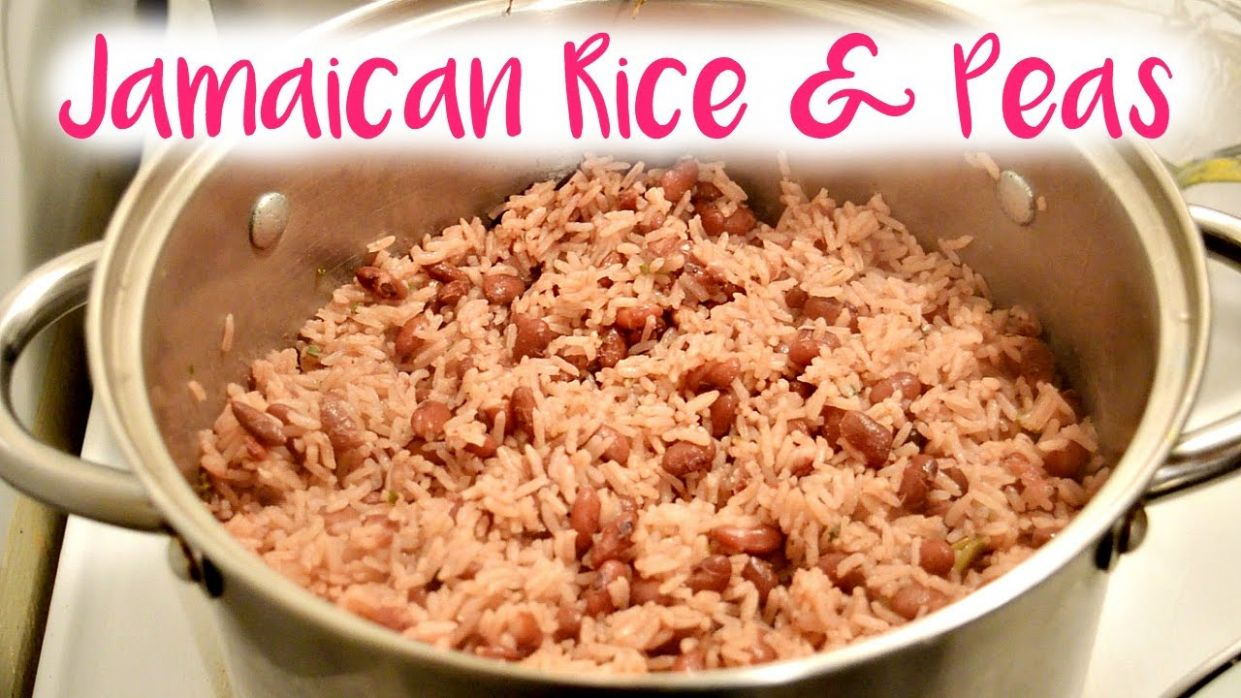 Easy Jamaican Rice and Peas - Simple Recipes Jamaican Rice And Peas