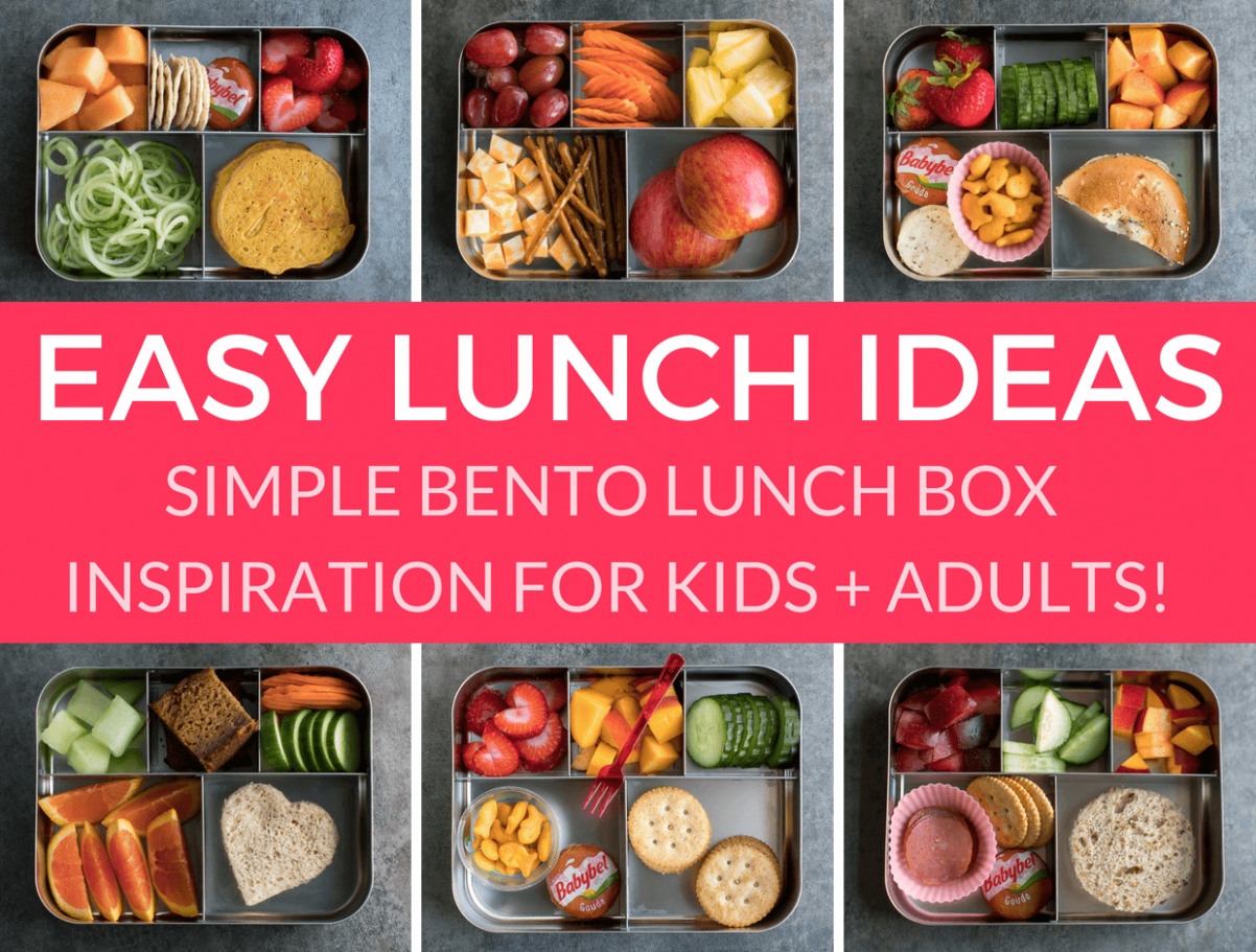 Easy Lunch Ideas for Kindergarten - Peas And Crayons