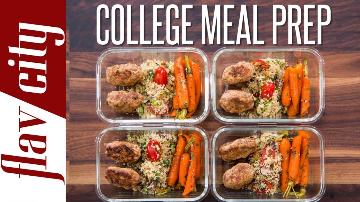 Easy Meal Prep For College Students – Healthy Meal Prep For The Week - Easy Recipes For Students