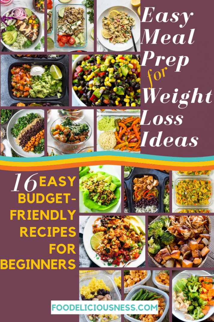 EASY MEAL PREP for Weight Loss Ideas – 9 Budget-Friendly Recipes ..