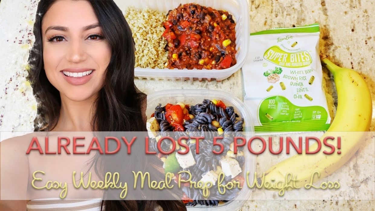 EASY MEAL PREP FOR WEIGHT LOSS - VEGAN & GLUTEN FREE - Weight Loss Recipes Gluten Free