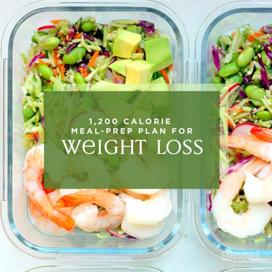 Easy Meal-Prep Plan for Weight Loss: 11,11 Calories | EatingWell