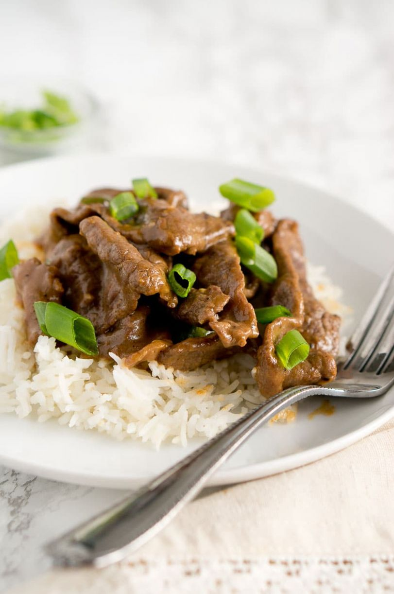 Easy Mongolian Beef - Beef Recipes Healthy