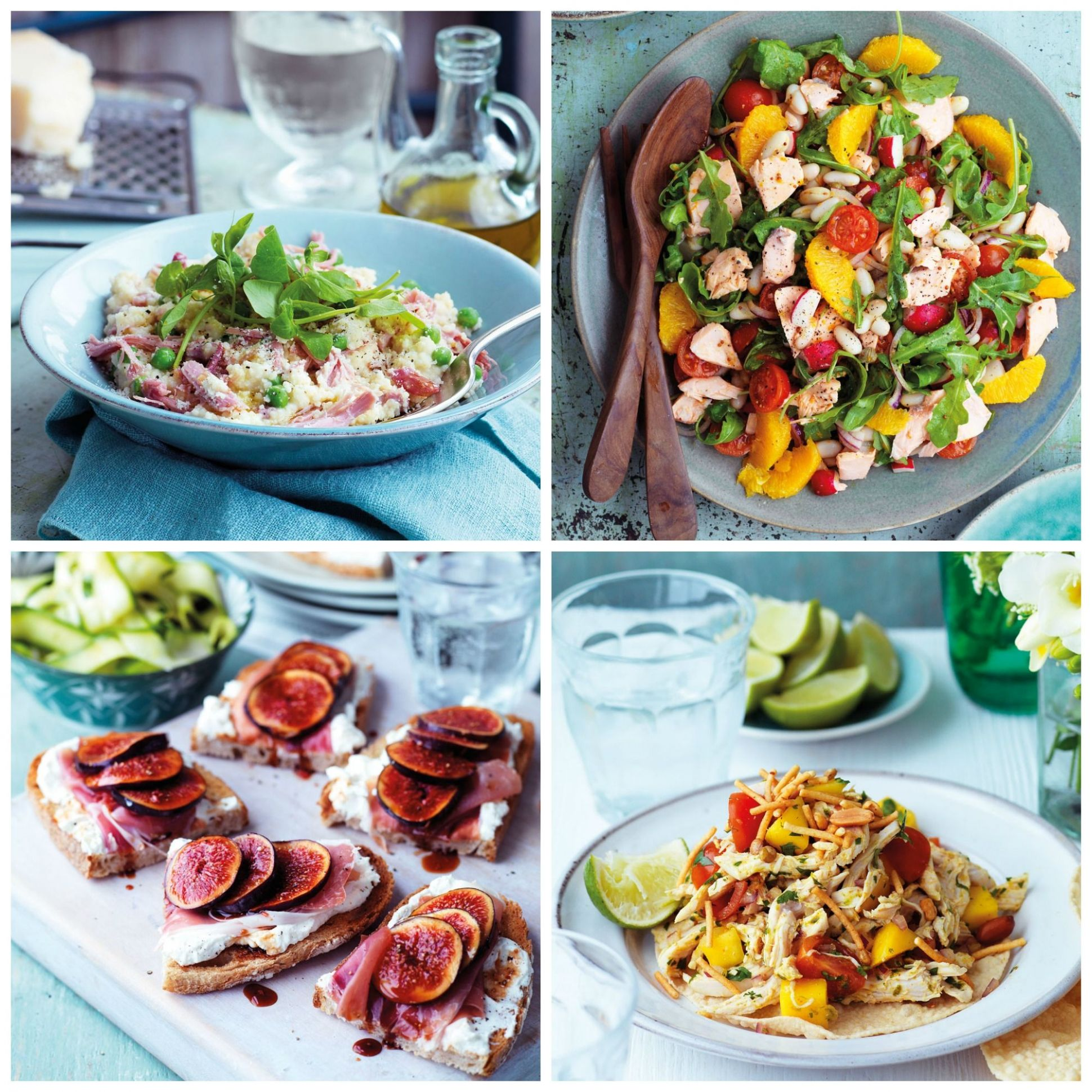 Easy no-cook meals - tasty Summer recipes that don't require cooking