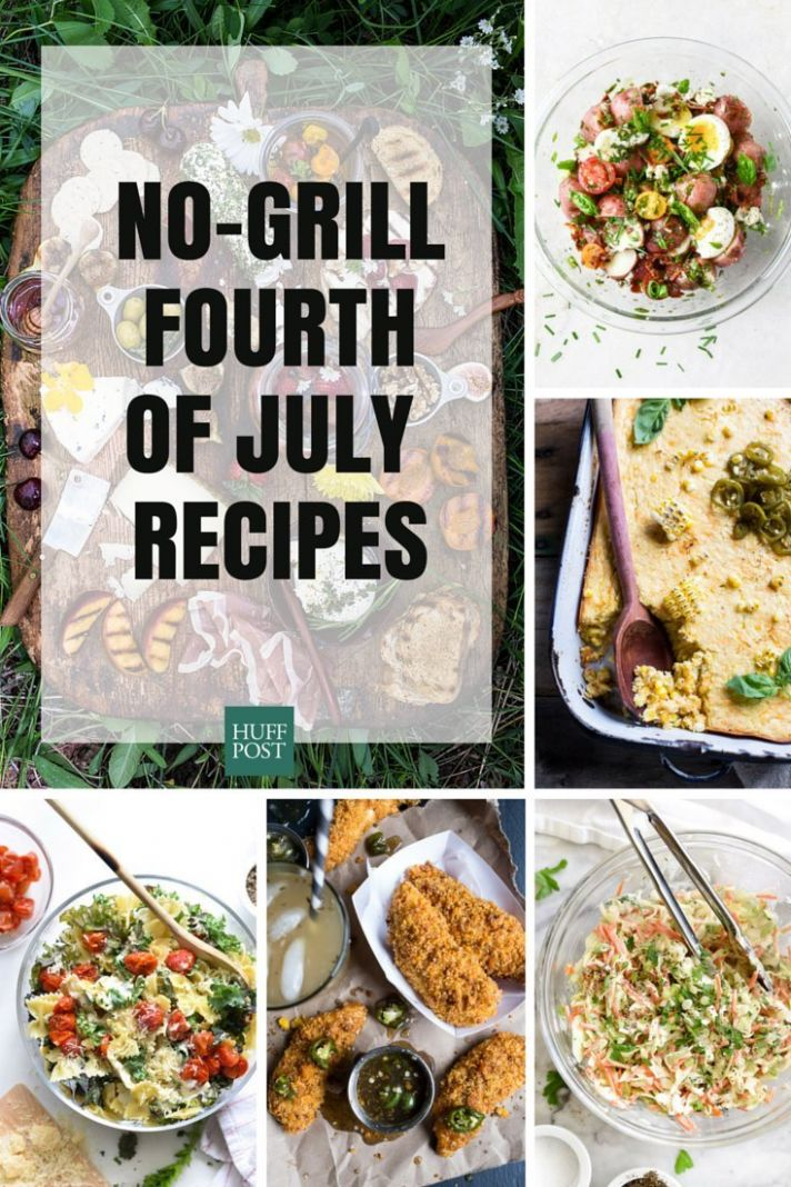 Easy, No-Grill Fourth Of July Recipes | HuffPost Life