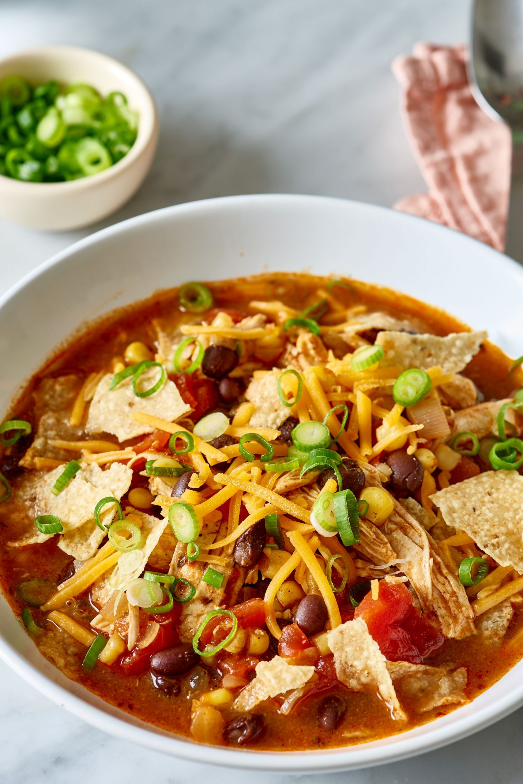 Easy One-Pot Chicken Taco Soup