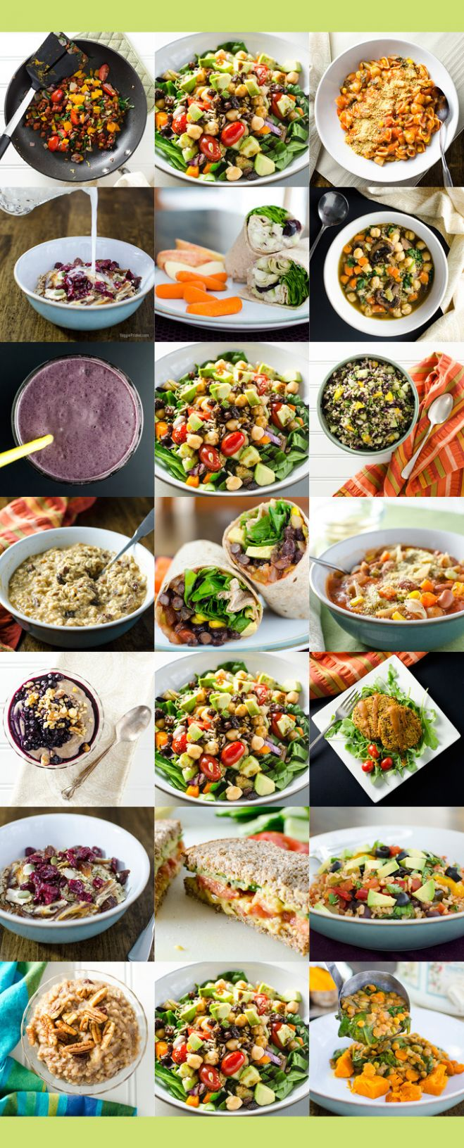 Easy One-Week Plant-Based Meal Plan | Veggie Primer