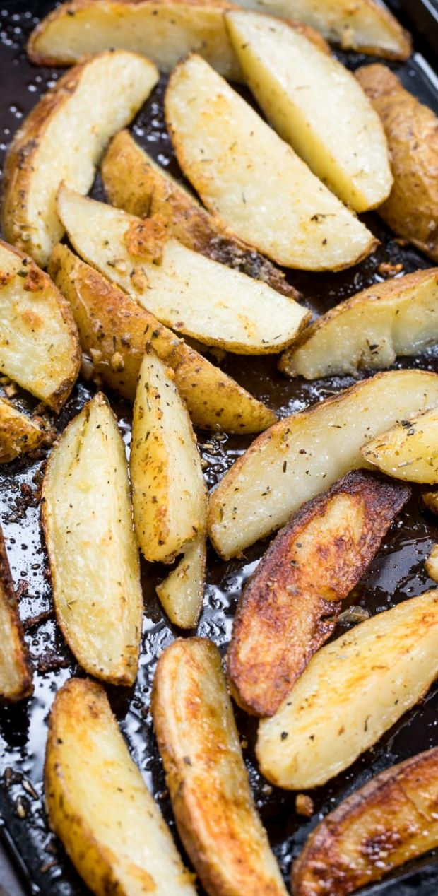 Easy Oven Roasted Potatoes Recipe - Crazy for Crust