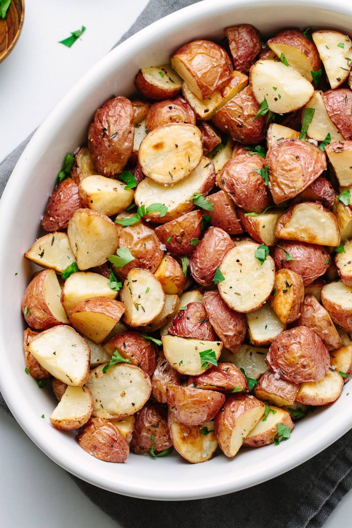 EASY OVEN-ROASTED RED POTATOES
