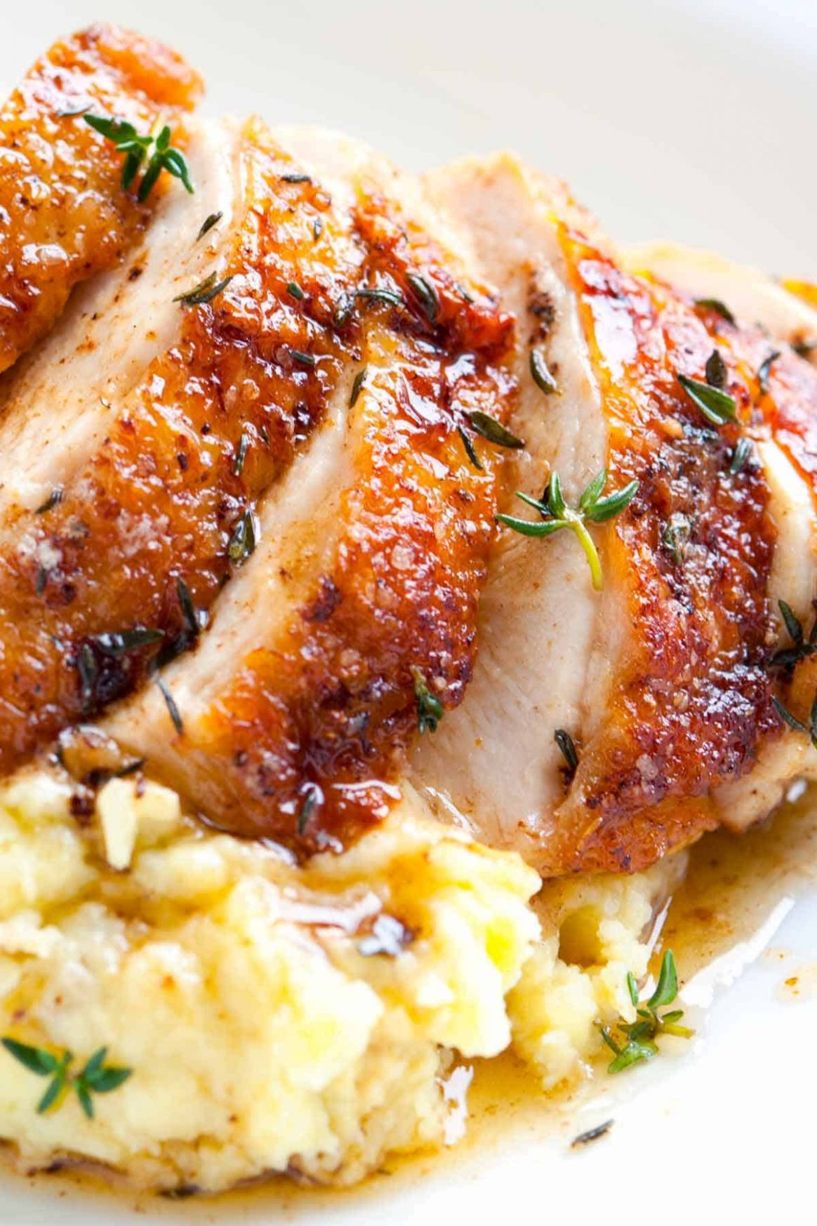 Easy Pan Roasted Chicken Breasts with Thyme - Recipes Chicken Breast With Bone