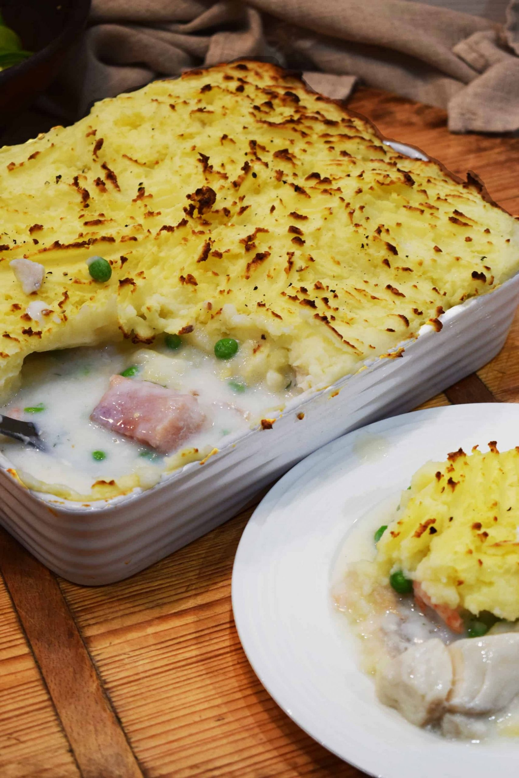 Easy Peasy Homemade Healthy Fish Pie - Recipe Quick Fish Pie