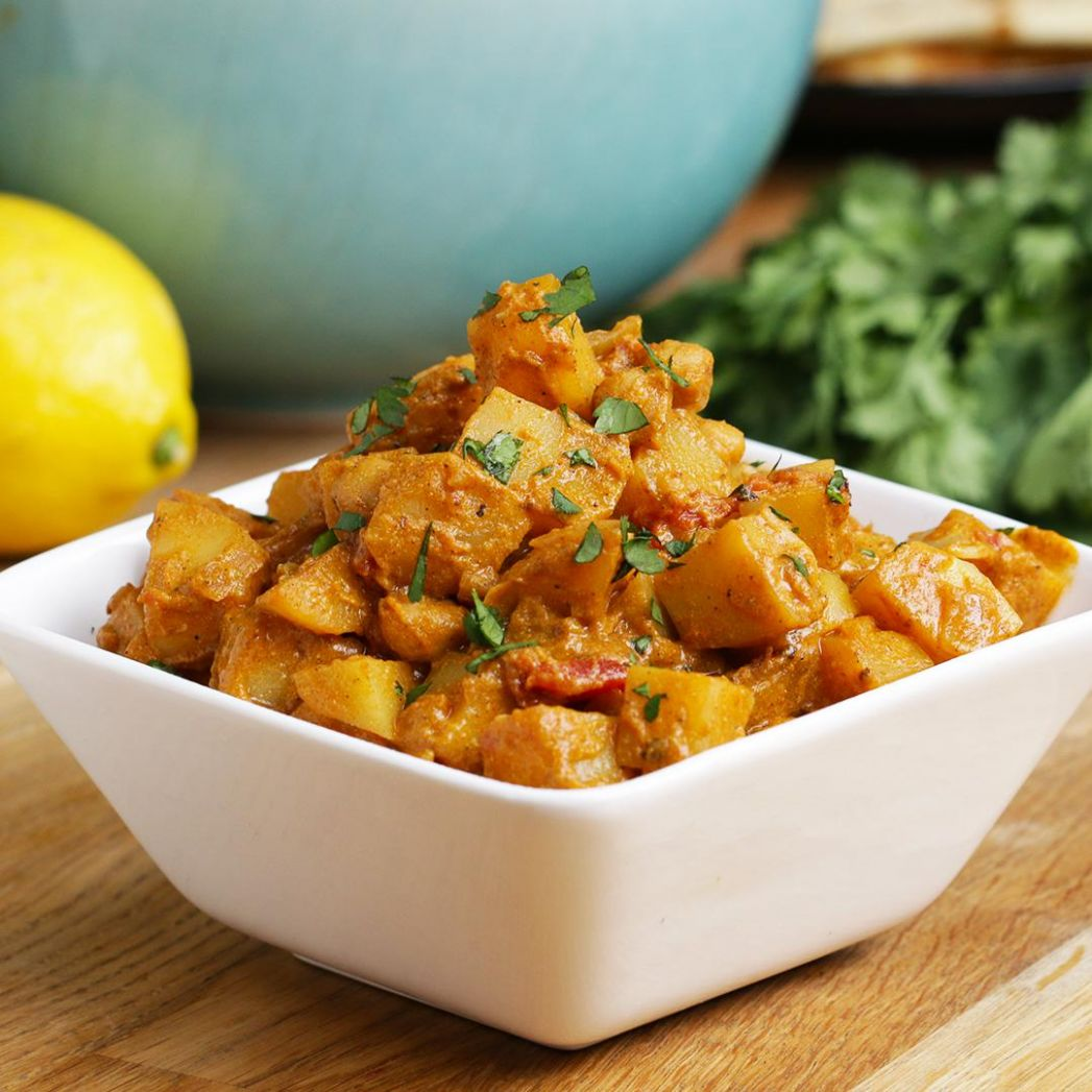 Easy-Peasy Potato Curry Recipe by Tasty - Potato Recipes Tasty